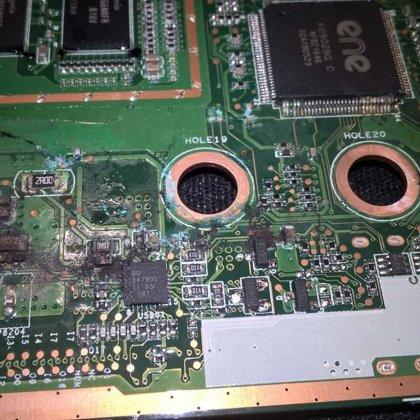 Aplieta portatīvā datora remonts